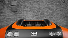 Orange & Black. (Raoul Automotive Photography) Tags: orange black holland slr netherlands logo photography 50mm hotel king sony nederland wrap automotive filter f 164 editing mm alpha f18 dslr 18 50 bugatti slt edit zwolle eb w12 rk veyron raoul a35 koning polarisation librije