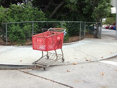 Target Cart in Garvanza (fordsbasement) Tags: shoppingcart garvanza