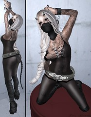 Chained (Purz Nirvana) Tags: art fashion cat blog mesh zombie id suicide mandala blogger tattoos sl fantasy secondlife blonde demon devil neko scrub kgs gok hellcat roleplay erratic coxi fashionblog jm2 gimpart slblog secondlifefashion secondlifeblog fashioninsl lelutka alvulo gimpartist roleplayinsl ten10purzpurz nirvanaphoto