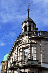 Close-up of HSBC Bank, Carlisle. (Raymondo166) Tags: street weather closeup logo football team top hunting bank fox local vane carlisle hsbc represents