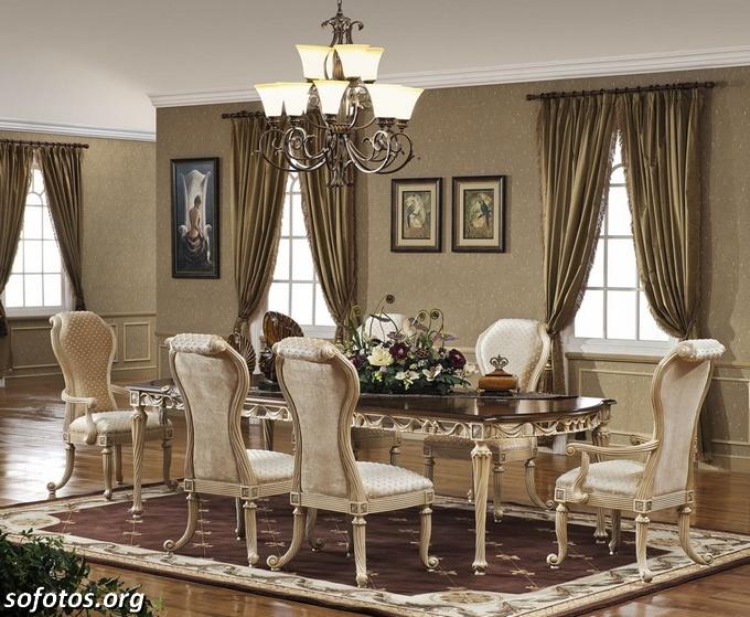 Salas de jantar decoradas (90)