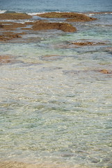 impressionistic (brisrain) Tags: summer beach vertical landscape hawaii waves