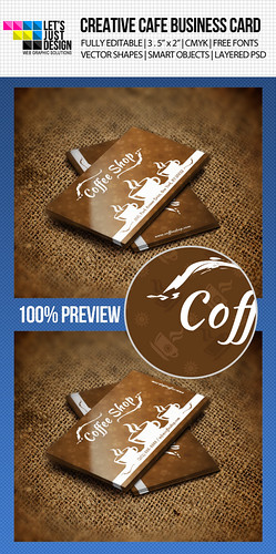 Graphic River - Cafe Business Card Template