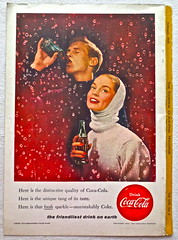 1956 - 1950s Vintage Coca Cola Advertisement From National Geographic Back Page 19 (Christian Montone) Tags: vintage ads advertising coke americana soda cocacola advertisements sodapop vintageads vintageadvert