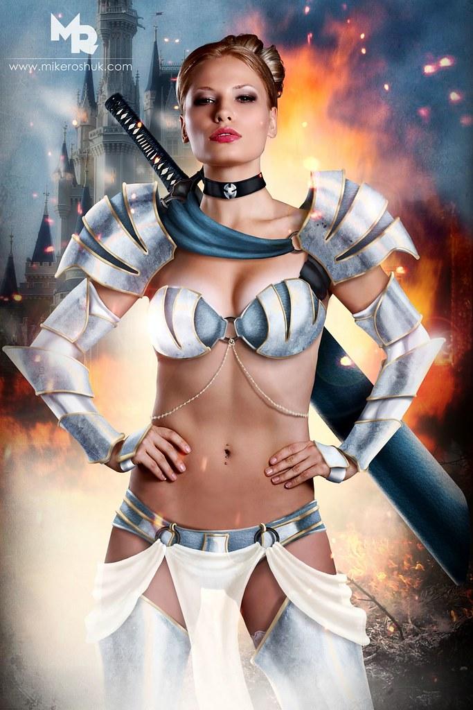 化身為剽悍超級戰士的「迪士尼公主」