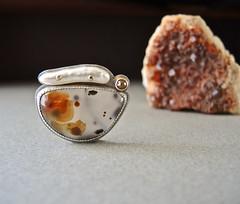 DSCN2505 (betsy.bensen) Tags: brooch fabricated sterlingsilver 18ktgold 14ktgold stickpearl montanaagate rosecutdiamond baw5230