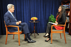 Secretary Kerry Conducts Pakistani TV Interviews