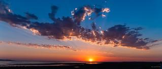 Baie de Somme en soirée