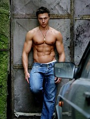 Alex Ceobanu1 (shirtlesss1) Tags: gay shirtless actors handsome hunk jeans biceps toned abs sixpack malemodel allamericanguys shirtlessjeanscute
