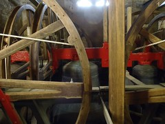 A load of bells and ropes (i_gallagher) Tags: tower church wheel bells spoke rope beam frame sidmouth idg 2013