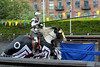 Human Target and a well broken lance! (jamesdonkin) Tags: horse public animal costume action leeds medieval tournament lance knight armour jousting royalarmouries manatarms platemail stacyevans historicalgarb fullplatearmour