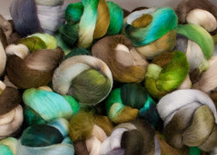 SCF Club Mixed Sweater Lot (davidscf) Tags: storm wool forest moss bamboo yarn spinning gathering fiber shetland seas fibre falkland scf jewelled handspinning southerncrossfibre