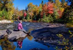 P9287501_FF (J41G) Tags: autumn canada color fall nature landscape photographer quebec foliage reflet paysage tremblant reflexion parc couleur feuille diable photographe feuillage autonmne