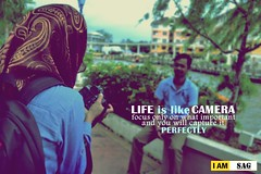 Life is like a camera, just focus on what's important and you will capture perfectly (SAG.photo) Tags: shahrul azizan