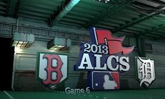 ALCS Game 6  Red Sox Detriot
