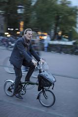 Amsterdam Cyclists (_Tophee_) Tags: amsterdam bike nikon cyclist f14 sigma d300 30mm