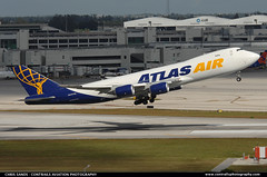 Atlas Air B748F N854GT ($and$man) Tags: miami cargo boeing freighter