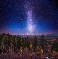 Milky Way Twilight Afterglow over The Grand Tetons by Matt Anderson (Matt Anderson Photography) Tags: trees light sky usa cloud mountain lake tree fall nature leaves vertical horizontal fog mystery night forest sunrise river dark painting square stars landscape outdoors photography star nationalpark montana solitude glow smoke horizon hill tranquility nopeople panoramic jackson treetops illuminated galaxy snakeriver vista astronomy headlight wyoming bathing tetons awe majestic dramaticsky predawn grandteton jacksonhole scenics constellation milkyway mountainrange tranquilscene grandtetonnationalpark colorimage mattanderson beautyinnature nonurbanscene dramaticlandscape starrysky otherkeywords zzzpics