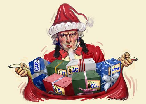 From flickr.com: Uncle Santa {MID-133572}