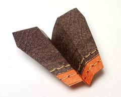 Origami création - Didier Boursin - Coup de vent