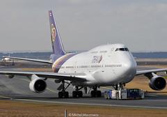 HS-TGX B747-400 Thai Airways International (MM Aviation Photography) Tags: frankfurt boeing 747 fra 747400 thaiairways hstgx