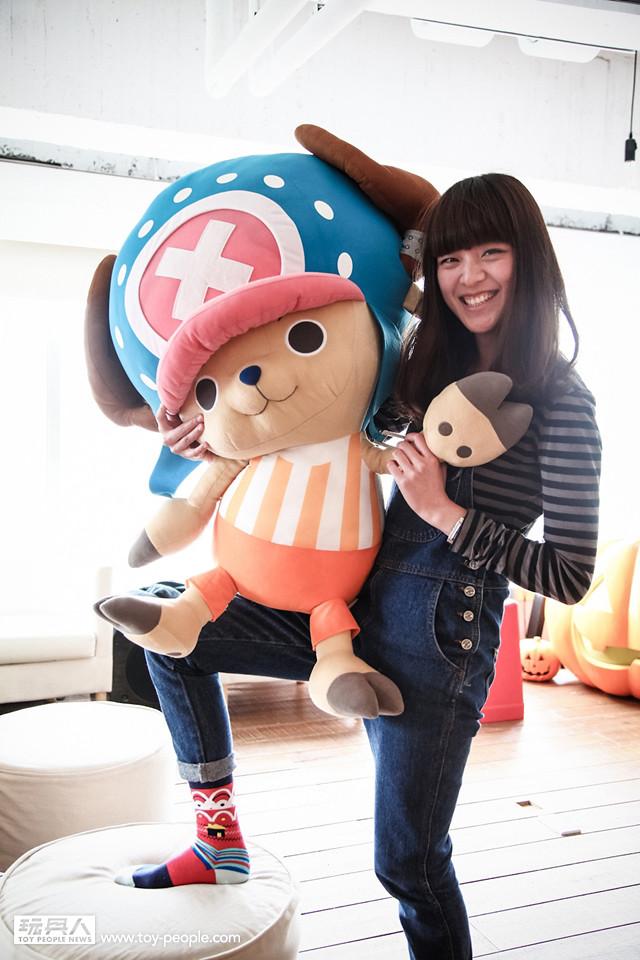 超大也超Q!~ 台灣《一番賞》限定【特大號喬巴布偶】贈獎活動!