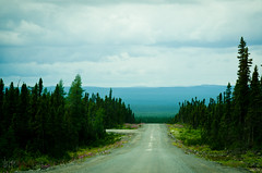 Back on the road (WhiteFlowersFade) Tags: voyage road travel canada newfoundland landscape nikon labrador north roadtrip route paysage nord tnl terreneuve d7000