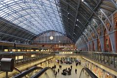 St Pancras Railway Station (pegase1972) Tags: railwaystation uk england angleterre unitedkingdom getty licensed exclusive explore explored