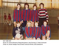 1980 Meisjes C1 - Tr. Tineke Vermeulen