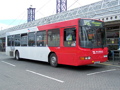 080703-140342 (West Midlands Travel Ltd. 1390-N390BOV) (Bus Buster UK) Tags: travel west bus station corporate volvo route national service express wright division endurance limited ltd midlands wolverhampton 58 twm livery 546 bilston 1390 b10b wmt nxwm n390bov