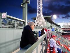 Alex in right field (hickamorehackamore) Tags: boston canon ma october massachusetts redsox fenway fenwaypark 2013 alcsgame2