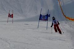 Zo (La Pom ) Tags: ski competition coeur stade slalom combloux fleche creve descente megve jaillet rodhos