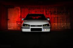 Haunt. (Stefan Sobot) Tags: auto white car race drag nikon shoot photoshoot serbia fast racing german vehicle modified belgrade tuner beograd astra opel srbija kadett gsi automobil hamma vauxall d7000 wwwbud3net
