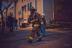 DSCF2629 (EdwardFotoLogue) Tags: street news black fire dallas texas apartment smoke houston fujifilm unreal firefighter complex department marconi 2014 ireport x100 hfd iwitness