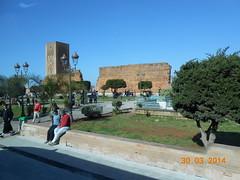 Entrada a la Mezquita de Hassan II - Casablanca (Colombina F.) Tags: mezquita casablanca marrakesh marruecos fes rabat hassanii minarete
