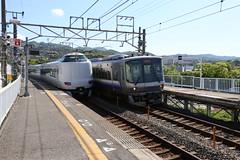 JR West EMU, Izummi tottori Station, Hanwa Line, Osaka, Japan (hiromori) Tags: japan train railway emu rollingstock