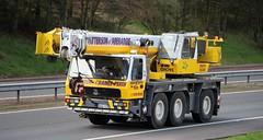 GROVE Megatrak Mobile Crane - PATTERSON Abernethy Perthshire (scotrailm 63A) Tags: cranes lorries