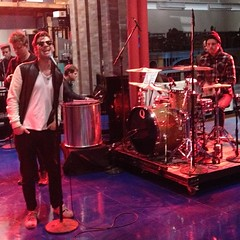 Make sure you watch Foster The People on The Late Show with David Letterman tonight!!! Thanks for the photo @roadietogo!
