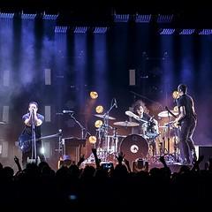 Regram from @nineinchnails of their show in Helsinki, Finland... Lovely logo shot. #qdrumco #nin #europeantour