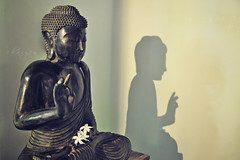 happy wesak day! (Chai Yen) Tags: shadow bali reflection buddha buddhist buddhastatue wesak happywesakday wedakday