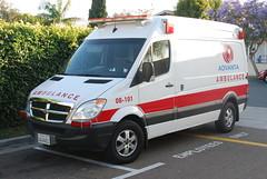 Advanta Ambulance (So Cal Metro) Tags: rescue sandiego ambulance dodge van paramedic ems emt hillcrest sprinter advanta advantaambulance
