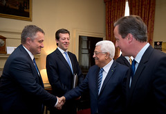 Palestine President's visit to Downing Street (The Prime Minister's Office) Tags: uk london palestine president pm primeminister downingstreet no10 bilateral mahmoudabbas
