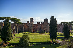 "Baths of Caracalla • <a style=""font-size:0.8em;"" href=""http://www.flickr.com/photos/89679026@N00/15847187093/"" target=""_blank"">View on Flickr</a>"