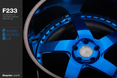 f233-polished-electron-blue (AG Wheels) Tags: blue wheel painting mirror paint flat wheels profile deep electron finish lip form reverse custom standard rim rims avant garde forged polished finishing smoked bespoke directional forging rotational f223 agwheels agform