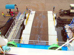 Her Ramp (Irvine Kinea) Tags: world voyage travel bridge cruise pope station saint ferry john paul island restaurant cafe stem cabin ramp asia ship fiesta state desk room horizon philippines arcade vessel super front tourist class hallway lobby deck gaming alleyway tatami vip trips hippo mast value suite accommodation tours stern propeller console augustine economy navigation charging rudder nn mega negros ats aft forecastle amenities 2go nenaco