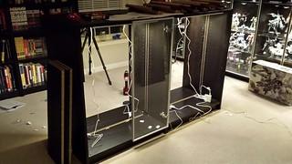 Display Cabinet WIP by Judson Weinsheimer