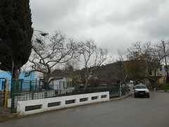 (Psinthos.Net) Tags: road morning houses winter mountain car rain clouds cloudy sidewalk valley february raining planetrees treebranches shrubs cypresstree wetroad treetrunks cloudiness      psinthos            rainingmorning   pavedpavement   psinthosvalley