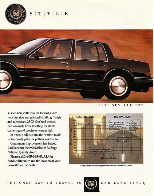 cadillac 1991