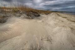 Fernandina February (MichaelSOwens) Tags: winter cold beach clouds wind florida dunes hdr fernandina seaoats ameliaisland fortclinchstatepark