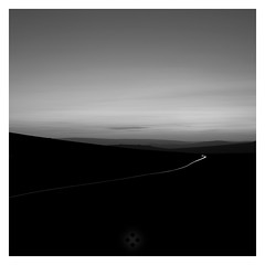 Fine Lines (picturedevon.co.uk) Tags: longexposure blackandwhite bw landscape photography nationalpark twilight nightscape dusk fineart hills devon le dartmoor minimalist moorland lighttrail saddletor bydavidhixon wwwpicturedevoncouk